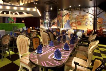 Alice in Wonderland Restaurant & Tokyo Robot Restaurant Show