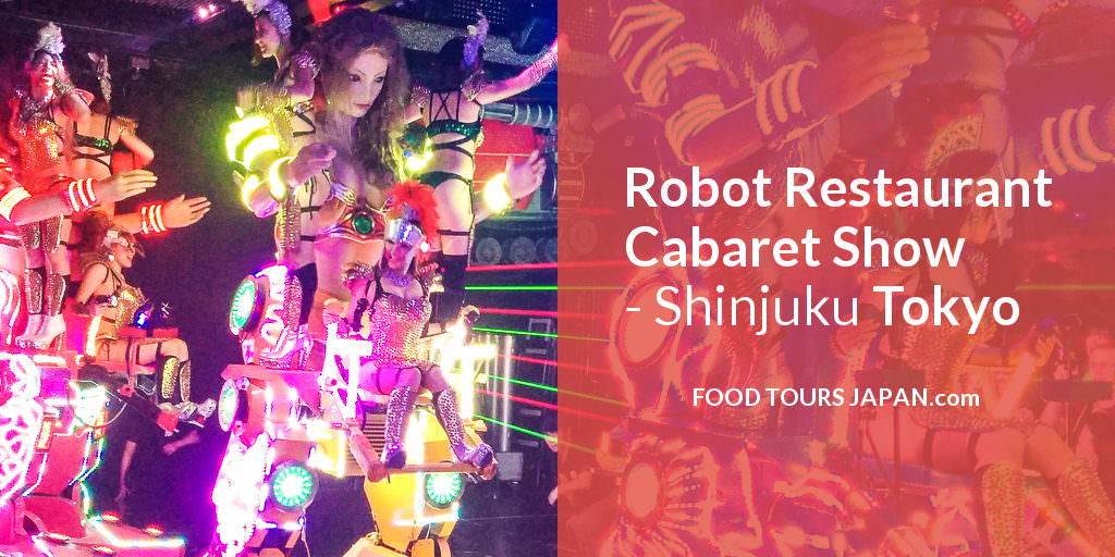 Robot Restaurant Cabaret Show Tickets in Tokyo