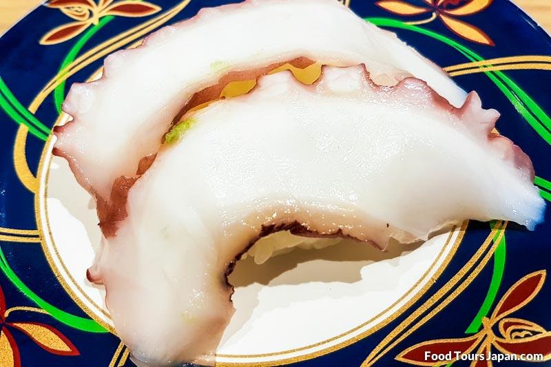 Octopus (Tako) Nigiri