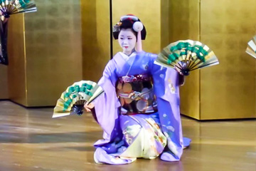 Maiko tea ceremony and show in Gion