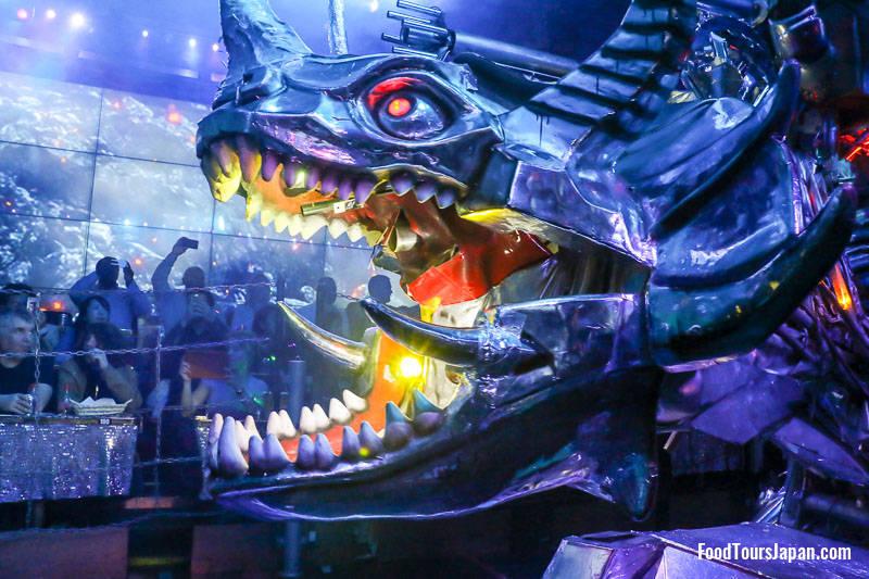 Robot Restaurant show Tokyo robot monster