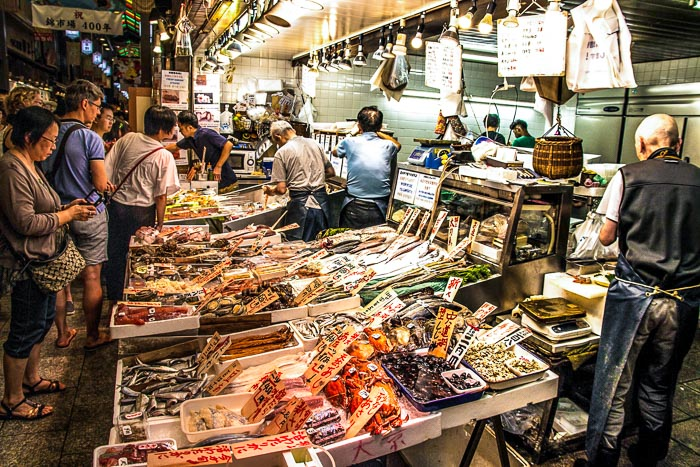 Nishiki Market Kyoto Tours