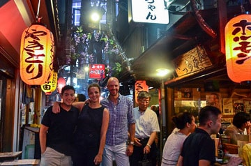 Shinjuku Golden Gai and Kabukicho Izakaya Experience