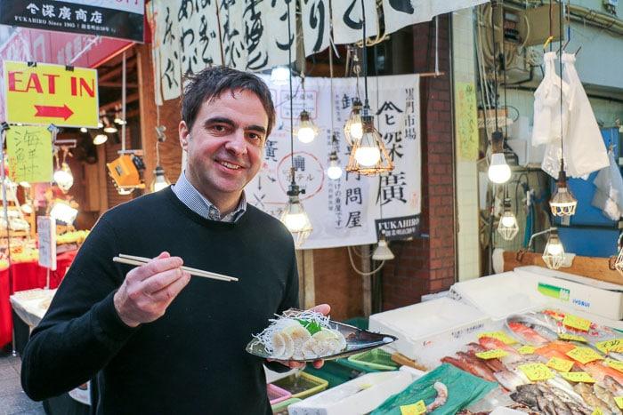 Chris P King - Food Tours Japan