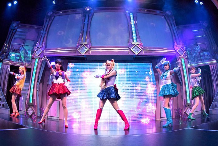 Sailor Moon Dance Show Sailor Guardians