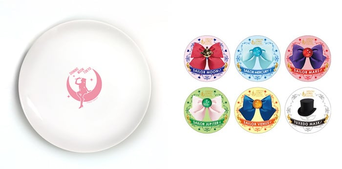 Sailor Moon Restaurant Show Tokyo - Exclusive Free Souvenir Plate Coaster Gifts