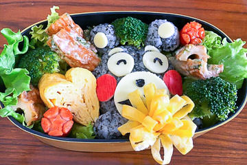 Cute Japanese Character Bento Cooking Class Live Online