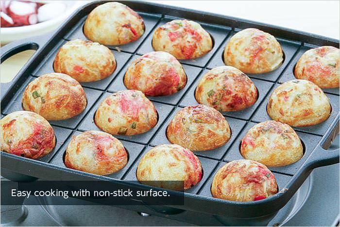 Iwatani Non-Stick Takoyaki Grill Pan CB-P-TAF
