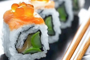 Private Luxury Live Online Sushi Workshop