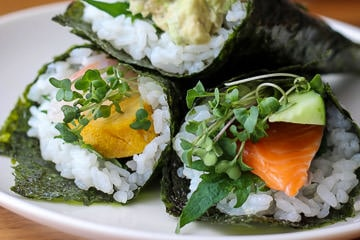 Hand Roll Sushi Online Class